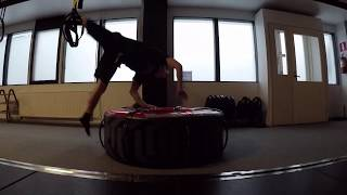 """Training in the Gym (called """"the best gym in Finland"""")"""