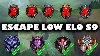 The Ultimate Guide To ESCAPE LOW ELO for Season 9 | 21 Tips That Will Help You Climb For Season 9