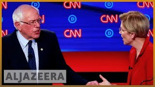 US Democratic Battle: Presidential candidates debate again