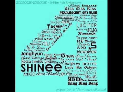 SHINee medley 4years anniversary