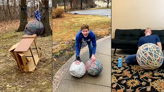 Dylan Ayres Rubber Band Ball TikTok Compilation (THE ENTIRE JOURNEY)