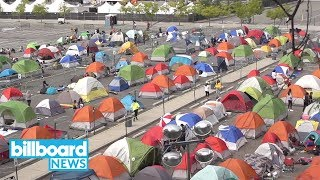 BTS Fans Camp Out For Citi Field Show | Billboard News