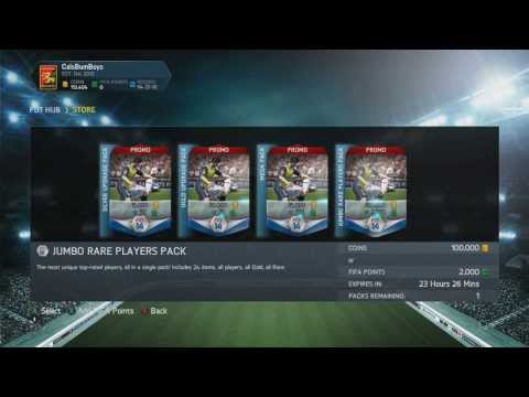 TOTY 100K ALL PLAYER PACK! LIVE REACTIONS! (2/2)