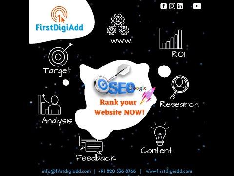 Get Best Search Engine Optimization at  First DigiAdd
