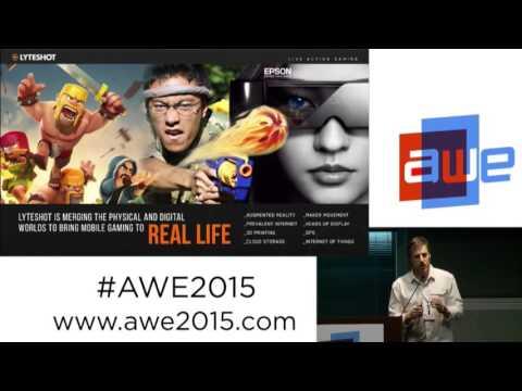 Mark Ladd CEO, Lyteshot   Making video games real at AWE 2015