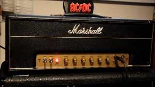 Marshall JTM45 and Gibson SG AC/DC Tone Test