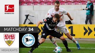 VfB Stuttgart - Arminia Bielefeld | 0-2 | Highlights | Matchday 34 – Bundesliga 2020/21