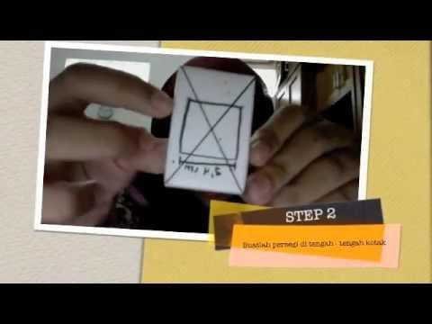 Repeat youtube video Cara membuat kamera lubang jarum (KALUJA)