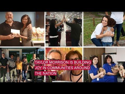 Taylor Morrison team members build joy in their communities nationwide.