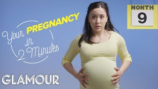 This is Your Pregnancy in 2 Minutes | Glamour