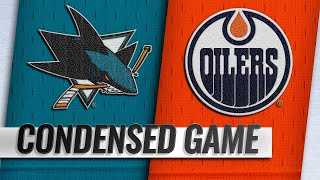 04/04/19 Condensed Game: Sharks @ Oilers