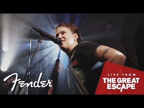 Nothing But Thieves Live | The Great Escape Festival 2018 | Fender