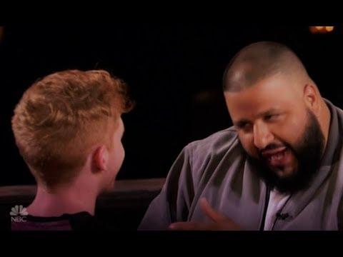 Chase Goehring: Original Rapper Gets DJ Khaled's GOLDEN BUZZER!!! America's Got Talent 2017