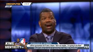 """Rob, Jennings & Chris SURPRISED """"Would LeBron be good at running his own NBA franchise?""""