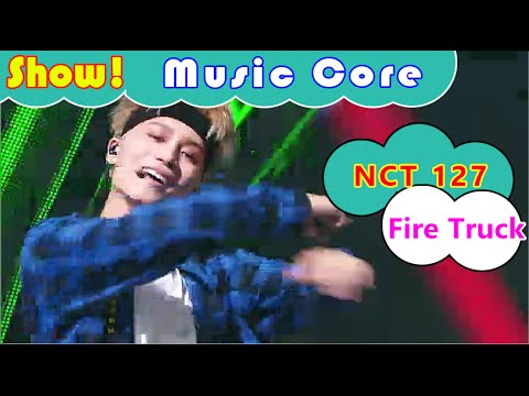 [HOT] NCT 127 - Fire Truck, NCT 127 - 소방차 Show Music core 20160723