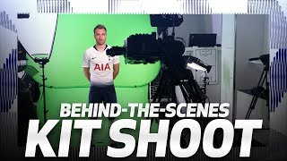 BEHIND THE SCENES | SPURS 2018/19 NIKE KIT PHOTOSHOOT
