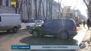 В Сумах наделал шума автомобиль с российскими номерами