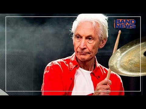 Baterista dos Rolling Stones, Charlie Watts morreu