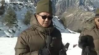 Sh Kiren Rijiju, Hon'ble MoS visited M and SI Auli Uttarakhand in January, 2019 - YouTube