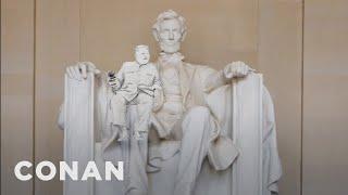 Kim Jong-un's Video Message For Trump  - CONAN on TBS