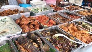 Buffet Style Malays Street Food