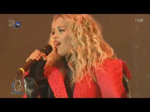 Rita Ora - I Will Never Let You Down / Shine Ya Light (Live in Kosovo 2018)
