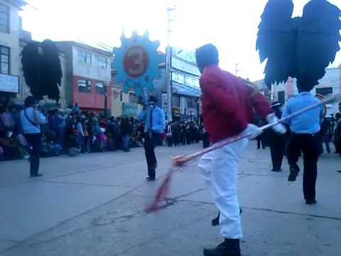 desfile del CNI 3 Cerro de Pasco 2013