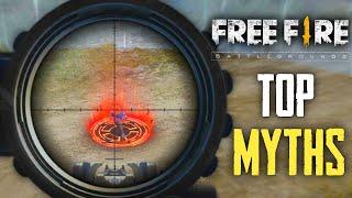 Top Mythbusters in FREEFIRE Battleground   FREEFIRE Myths #152
