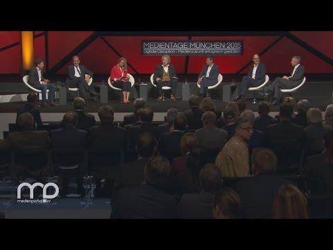 Rede: Eröffnung der MEDIENTAGE MÜNCHEN 2015 und TV-Gipfel