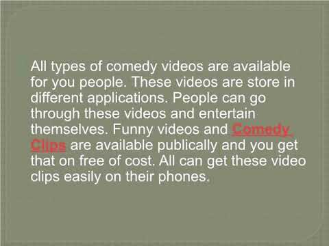 Go Through Latest Comedy Videos and Clips of Your Choice & Have Fun by Funny Videos