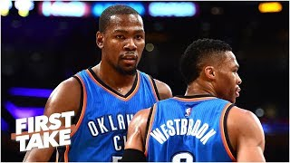 Kevin Durant told Thunder he wasn't leaving before joining Warriors - Stephen A. | First Take