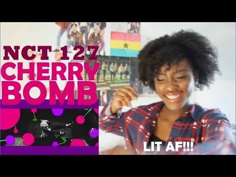NCT 127 - CHERRY BOMB MV REACTION [GO OFF MARK LAMAR!!!!]