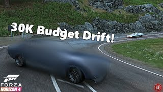 Forza Horizon 4: Auction House Budget Drifting! 30,000 Credits