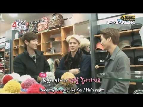 Kaiyeol moment #1 - Chanyeol is Kai's fan