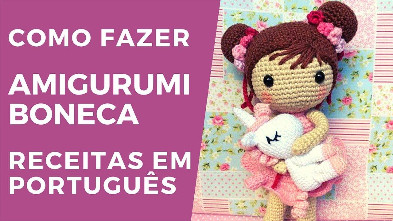 Mega Combo 7 Receitas Amigurumi Guaxinim Em Português no Elo7 ... | 720x1280
