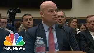 Hakeem Jeffries To Matthew Whitaker: 'Keep Your Hands Off' The Mueller Probe | NBC News