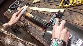 """Voodoo Child"" on the 3-String Shovel | Box Cutter Slide Guitar"