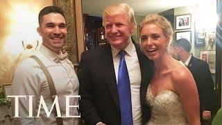 To može samo Trump: Nepozvan upao na svadbu potpuno nepoznatim ljudima (VIDEO)