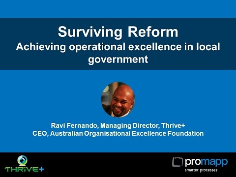 Surviving Reform: A process based approach to achieving operational excellence in local government