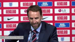 Gareth Southgate post match press conference vs Czech Republic