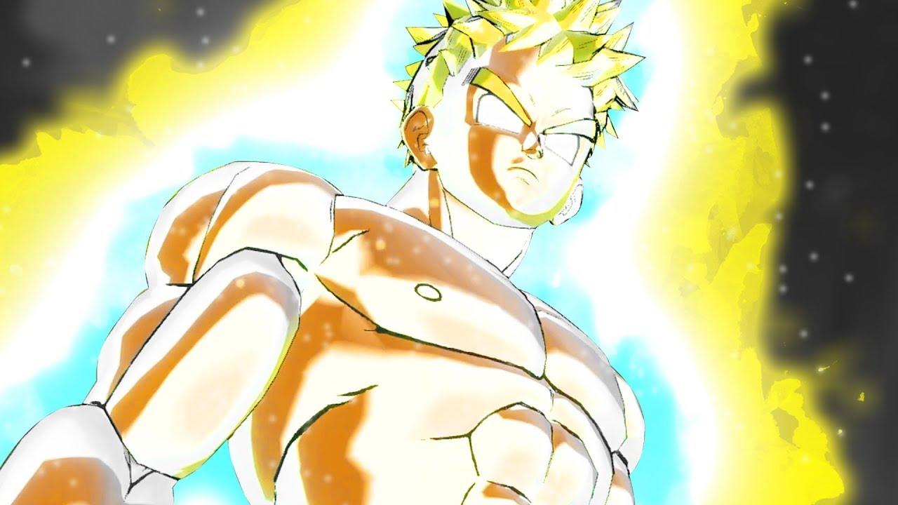 Super Saiyan Rage Cac Transformation Dragon Ball Xenoverse