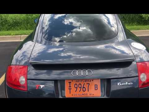 My 2003 Audi TT For Sale