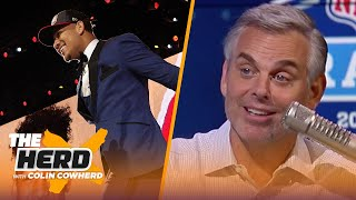 Colin Cowherd hands out his Awards for the 2021 NFL Draft | NFL | THE HERD