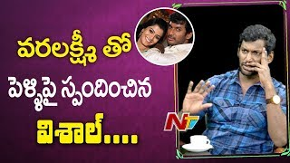 Hero Vishal's Clarity On Marriage With Varalakshmi Sarath ..