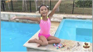 Fun Day Diving and Swimming with Shopkins | Toys Academy