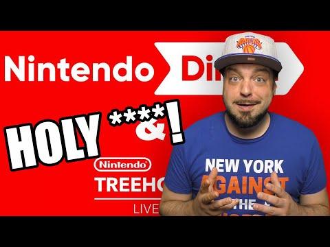 Nintendo Direct E3 2021 REACTION - HOLY ****!