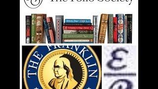 Folio Society, Easton Press & Franklin Library Comparison