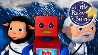 It's Raining It's Pouring | Nursery Rhymes | by LittleBabyBum!