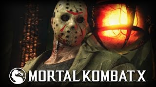 Mortal Kombat X: Official Jason Voorhees Gameplay Trailer!