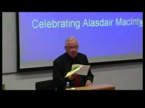 Alasdair MacIntyre: On Having Survived Academic Moral ...